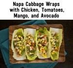 Napa Cabbage Wraps