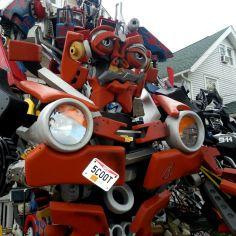 Transformer Closeup