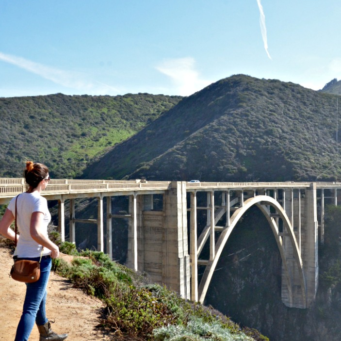 Bixby Bridge in California
