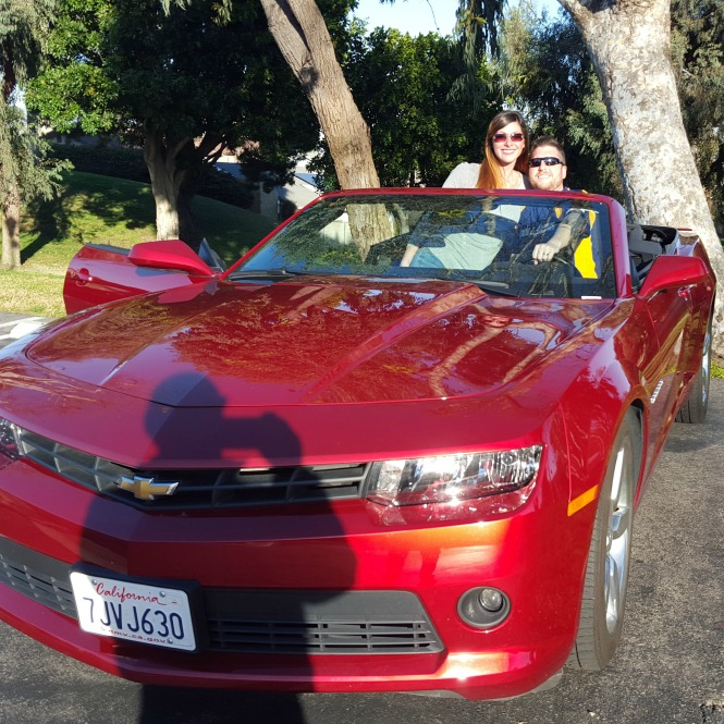 Camero Convertible California