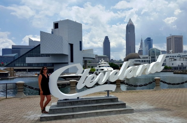 Cleveland Sign Downtown