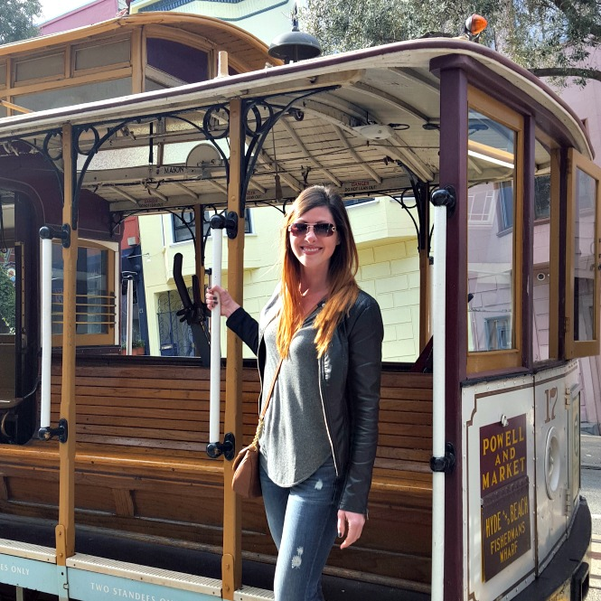 Powell and Market Street Car San Francisco