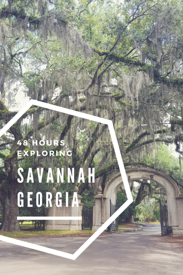 48 Hours in Savannah Georgia