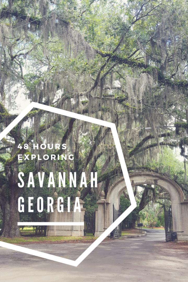 48 Hours in Savannah Georgia